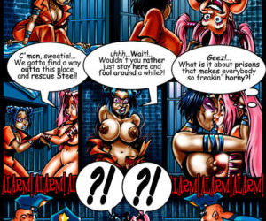 Basil:  Sinful Sandy Comics - part 3