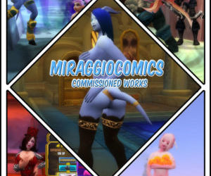 MiraggioComics - Commission 3D Art Manipulations