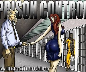 Prison Control- illustrated interracial