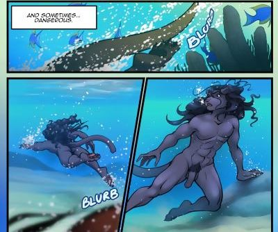 Dark Blue Comics The Depths