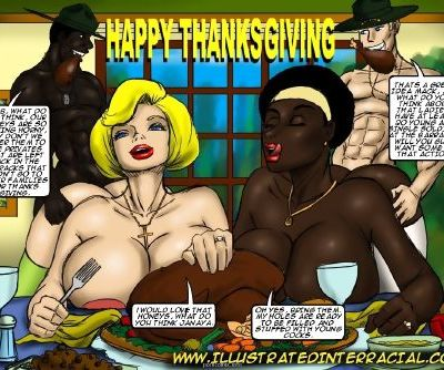 illustrated interracial- Holiday Pictures