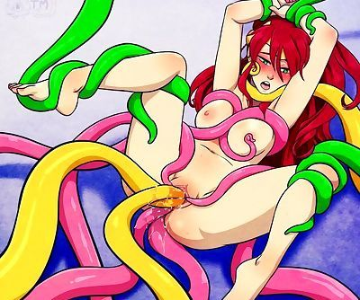 Tentacles Fetish Cartoon Porn..