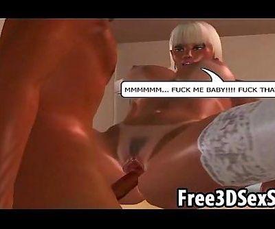 Hot busty 3D..