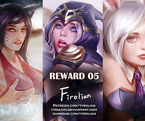 Reward 05 - Ahri- Ashe- Riven