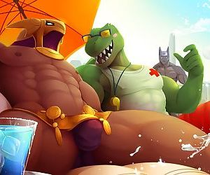 Azir Pool Party