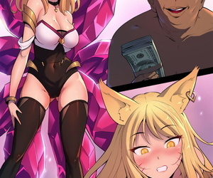 Damian K/DA Ahri League of Legends