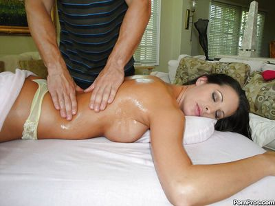 Kourtney Kane enjoys her breast massaged and her cunt fucked