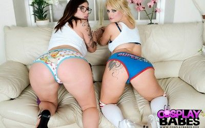 Nerd on nerd with yuffie yulan and bonnie rose