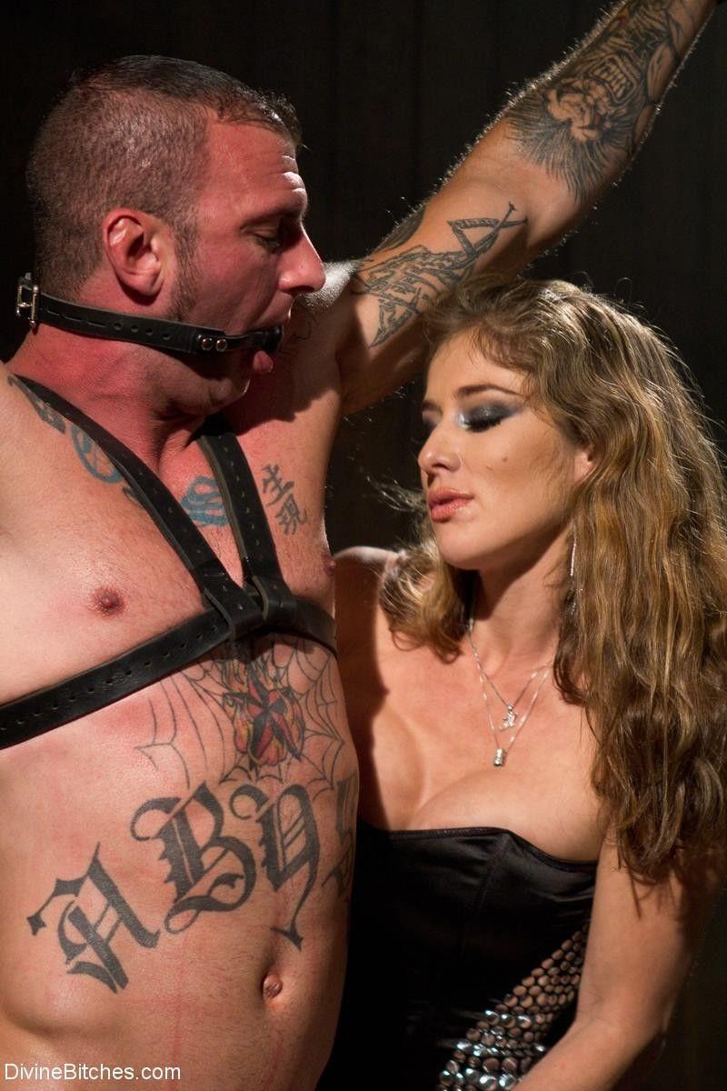 Femdom celebrates her birthday destroying a tough slaveboy!