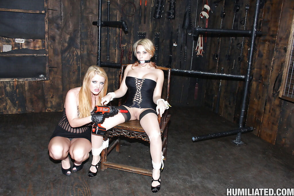 Madison Ivy with huge boobs gets tortured and fucked with bukkake