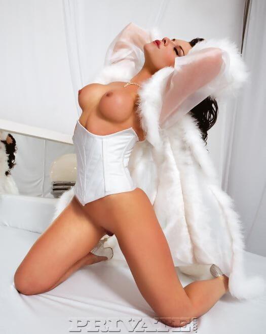 Super hot mistress Anastasia Mayo enjoys deep DP and licks her slaves cum