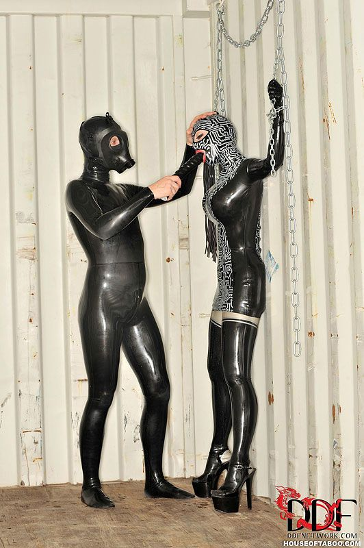 BDSM spanking and toying session with fetish enthusiast Latex Lucy