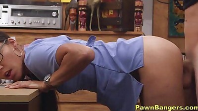 Real Teen Nurse Shoves Panties Up..