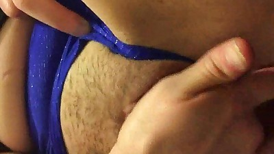 Closeup of a Creamy Squirting..