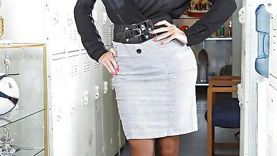 Hot and busty teacher Amy..