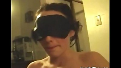Real wife giving head while..