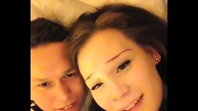 Hot asian couple sex tape