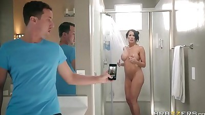 BrazzersStep son catches (Reagan..