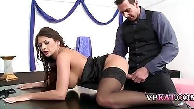 Hungarian pornstar Allison Star..