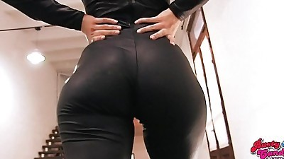 Big Ass Blonde Teen Wearing..