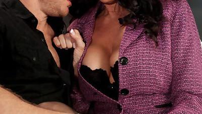 Busty granny Rita Daniels seduces..