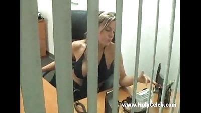 MILF secretary seduce her boss