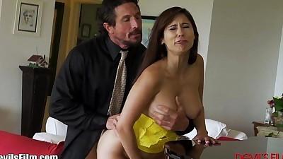 DevilsFilm Cheating MILF seduces..