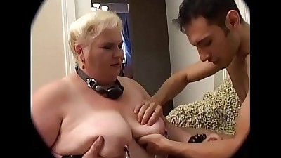 Old fetishist women do it crazy..