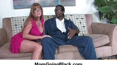 Milf fucked hard by black monster..