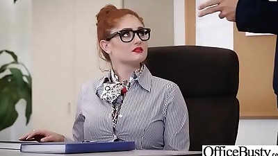 Hard Sex Tape In Office With Big..
