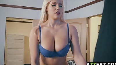 Horny office girl Kylie Page..