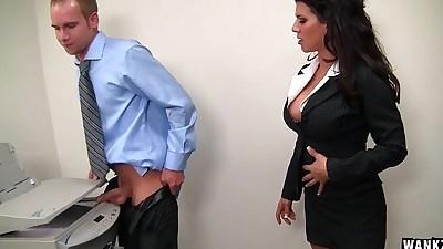 leena sky fucks at the office
