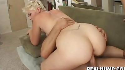 Natural Blonde Babe Claudia Downs..
