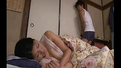 japonés Dormir mamá
