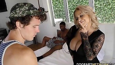 Alyssa Lynn takes BBC in front of..