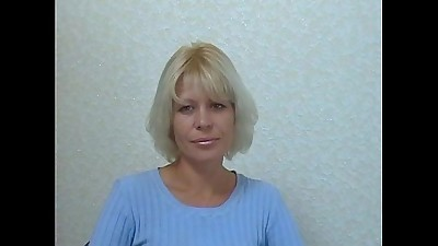 blonde russian mature mom casting 1