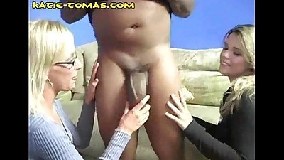 Blondes Suck Fat Black One
