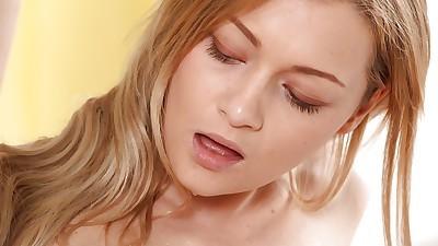 Slender Euro girl Olivia Devine..