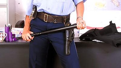 British policewoman Linsey Dawn..