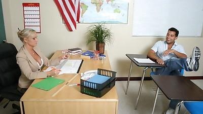Hot MILF teacher Devon Michaels..