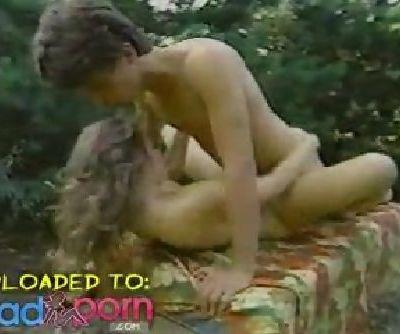 Hot Young Teen In Vintage Scene..