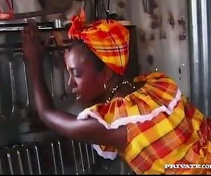 Ebony Beauty Bagheera Is Fucked..