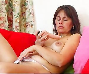Renata Troia Plays With Her Toys