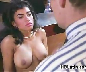 Sexy And Hairy Latina Having Sex..