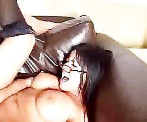 Big titty latina bitch Eva rammed!