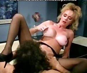 Vintage big titted blonde fucked..
