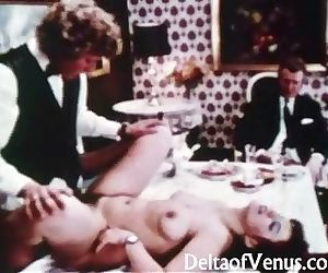 Vintage Porn 1970s - Table For..