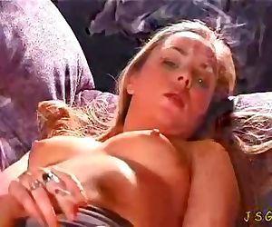 topless smoker