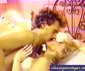 Blonde Slut in Retro 80s video