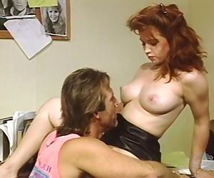 Classic Porn: Teen redhead..